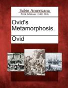 Ovid's Metamorphosis.