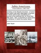 A History of Ten Baptist Churches