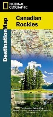 Canadian Rockies Destination Guide Map
