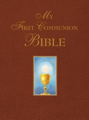 My First Communion Bible (Burgundy)