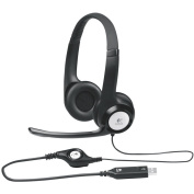 LOGITECH H390 USB Pure Digital Headset Comfortable design In-line audio controls w/Noise-canceling