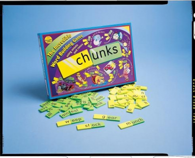 Chunks: The Incredible Word Building Game [With 72 Yellow Tiles, 72 Green Tiles]