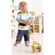 Hape E0344 Rainbow Push and Pull Toddler Toy