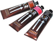 Chroma 'A2' Acrylic Colour Paint 120ml Tube - Great for hobby and Student use! - Light Red Oxide