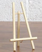 The 'Cheshire' Mini Display Easel for tables