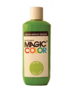 Magic Colour Acrylic Ink 250ml Bottle for Airbrushing and Painting - Mars Red