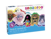 Fiesta and Carnival Face Painting Kit SNAZAROO