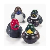 12 Mallard Decoy Rubber Ducks