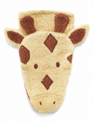 Washcloth Hand Puppet Giraffe By Furnis Small