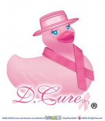 D.Cure - Breast Cancer Awareness Rubber Duck by Rubba Ducks