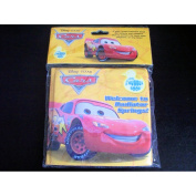 Disney Pixar Cars Bathtime Bubble Book - Welcome to the Radiator Springs