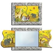 Mirror, Folding, Zebra