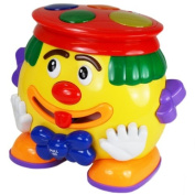 Megcos Musical Toy Clown -Affordable Gift for your Little One! Item #LMID-1218