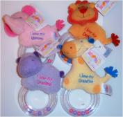 Baby GUND Plush Ring Rattle