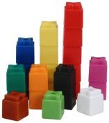 Learning Resources Stakube, 10 Colours, Set of 1000
