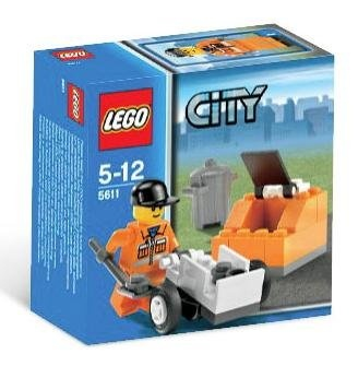 Lego City 5611 - Public Works Worker