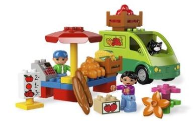Lego Duplo Market Place 5683