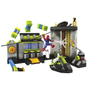 Mega Bloks Spiderman 4 Sewer Lab HQ