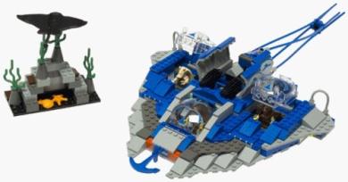 LEGO Gungan Sub - Star Wars 7161