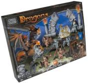 Mega Bloks Dragons Battle Gate Construction Blocks