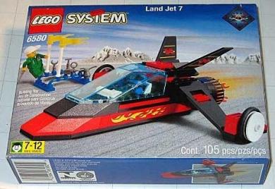 Lego Land Jet 7 6580