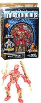 Mega Bloks Magnetix Mag Warriors Hirotengu Figure 9053