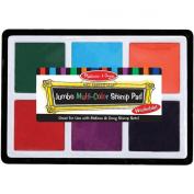 Melissa and Doug 2419 Jumbo Multi-Color Stamp Pad