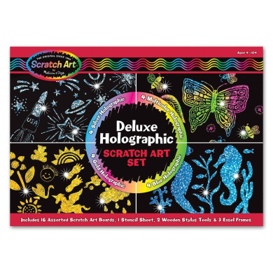 Scratch Art Magic Scratch and Sparkle Deluxe Kit