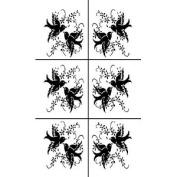 Armour Products Rub 'n' Etch Glass Etching Stencils - 5' x 20cm
