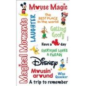 Disney Mickey Rub-Ons-Mickey Words