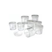 Craft Cups W/Lids, 9-Pack