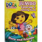 Dora the Explorer Colouring & Activity Book- Dora and Friends