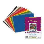 Rainbow Super Value Construction Paper, 10 Colour Assortment, 30cm x 46cm inches, 100 Sheets
