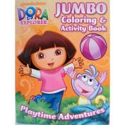 DORA the EXPLORER colouring & ACTIVITY BOOK