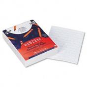 Pacon Multi-Programme Picture Story Paper, 1.6cm Long Rule, 12 x 9, White, 500 Sheets/Pk
