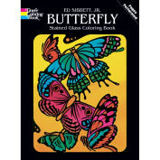 Dover 466706 Dover Publications-Butterfly Stained Glass Coloring Bk