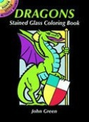 Dover 466718 Dover Publications-Dragons Stained Glass Coloring Book
