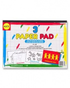 THREE PAPER PAD (9X12)