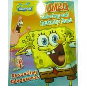 Spongebob Squarepants Jumbo Colouring & Activity Book