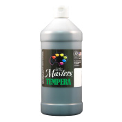 Rock Paint- Handy Art RPC203755 Little Masters Black 32Oz Tempera Paint