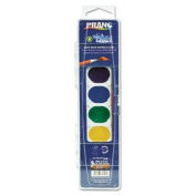 Prang 80525 - Washable Watercolours, 8 Assorted Colours