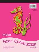 Pacon Corporation Pac104627 Neon Construction Pad 9x12
