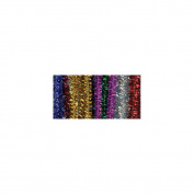 Tinsel Stems 6mm 12` 25/Pkg-Multi 248460 Darice