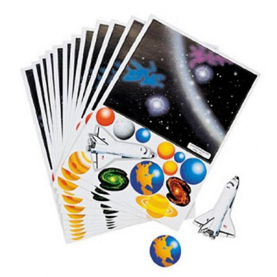 Make Your Own Solar System Sticker (1 dz)
