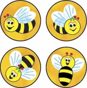 TREND ENTERPRISES INC. T-46168 SUPERSPOTS STICKERS BEES BUZZ