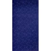 EUREKA EU-82414 STICKERS FOIL STARS 3/4 INCH BLUE