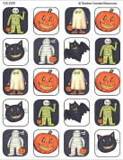Teacher Created Resources Halloween Stickers from Susan Winget, Multi Colour