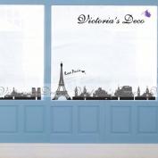 Home Decor Mural Art Wall Paper Stickers - I Love Paris SS58217