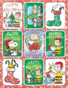 Eureka Eu-651554 Peanuts Christmas Stickers Flatpack