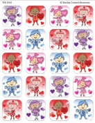 Teacher Created Resources Valentine Kids Stickers, Multi Colour
